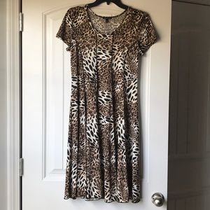 Sami&Jo Animal Print Dress